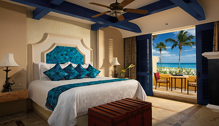 Showing slide 1 of 6 in image gallery, Romance Ocean Front 1 Bedroom Suite with Plunge Pool