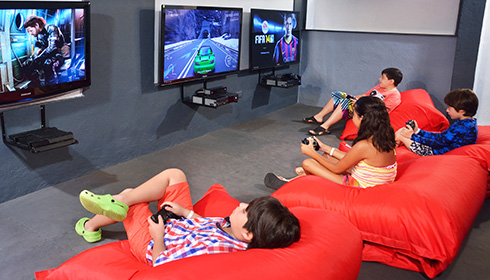 Kids Video Gaming Area