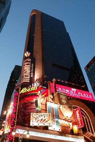 Showing Crowne Plaza Hotel Times Square Manhattan feature image