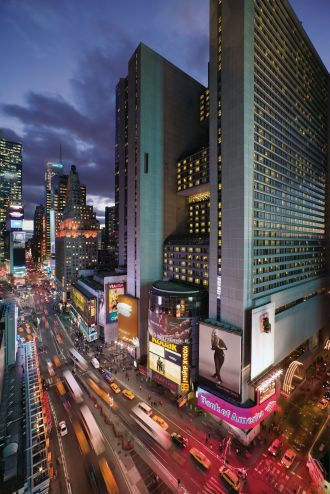 Showing New York Marriott Marquis feature image