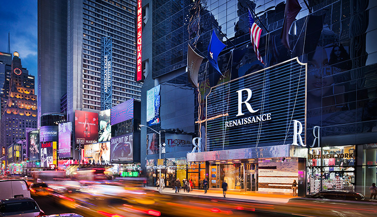 Showing Renaissance NY Times Square Hotel feature image