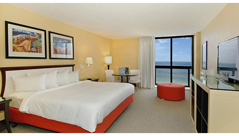 Showing slide 2 of 4 in image gallery, Ocean Front View Room