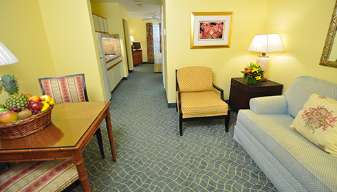 Image showcasing 1 Bedroom Suite