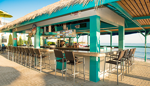 Image 6 de 9, de la gallerie de photos : Beach Bar