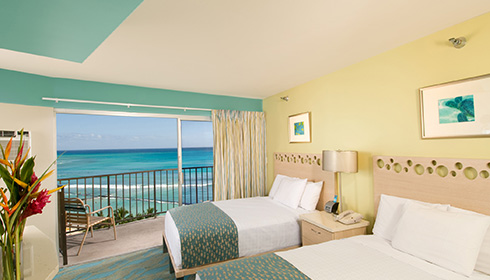 Image showcasing Oceanfront Hotel Room