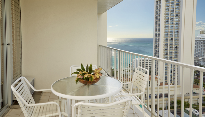 Showing slide 3 of 3 in image gallery showcasing 1 Bedroom Partial Ocean View w/ kitchen