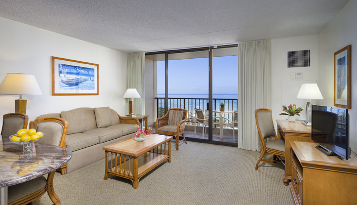 Showing slide 1 of 3 in image gallery showcasing 1 Bedroom Deluxe Ocean View