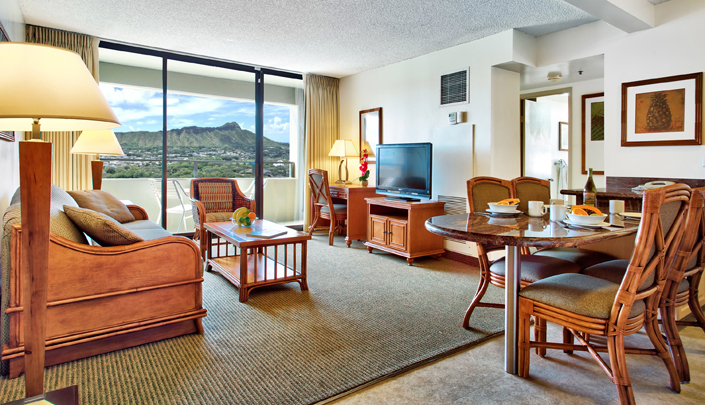 Image showcasing 2 Bedroom Diamond Head View