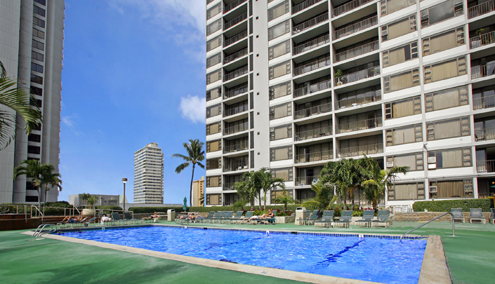 Showing Aston at the Waikiki Banyan Condo feature image