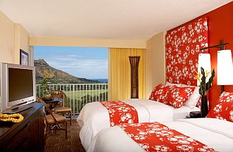 Image showcasing Partial Ocean View Hotel Room