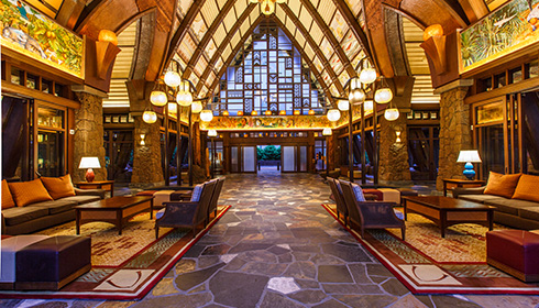 Showing slide 26 of 29 in image gallery, Main Lobby Entrance