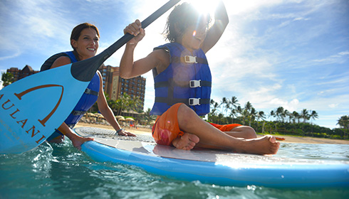 Showing slide 3 of 29 in image gallery, Paddle Boarding Fun