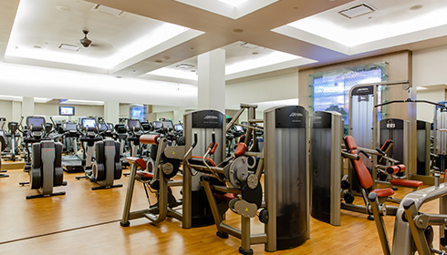 Showing slide 22 of 29 in image gallery, Fitness Centre