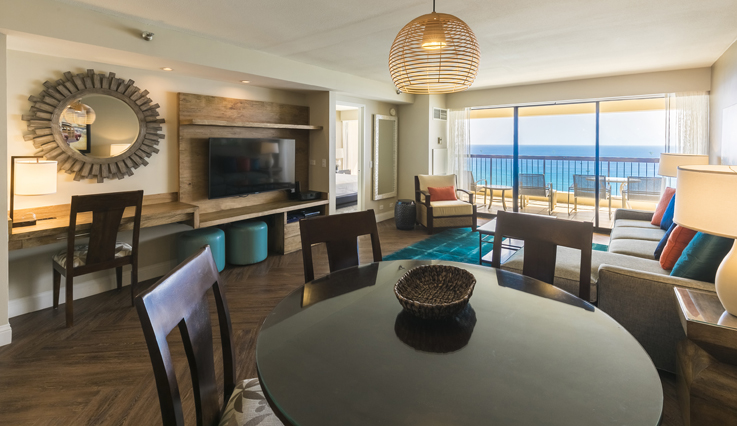 Showing slide 4 of 5 in image gallery showcasing 2 Bedroom Oceanfront