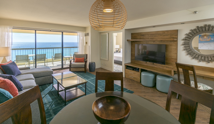 Showing slide 5 of 5 in image gallery showcasing 2 Bedroom Premium Oceanfront