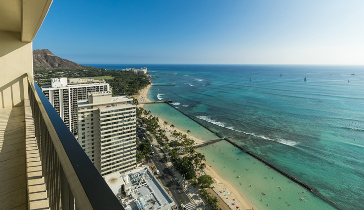 Showing slide 2 of 5 in image gallery showcasing 2 Bedroom Premium Oceanfront
