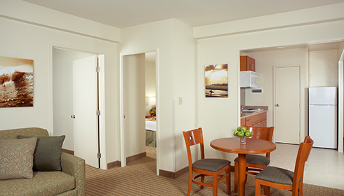 Showing slide 2 of 3 in image gallery, 2 Bedroom Suite