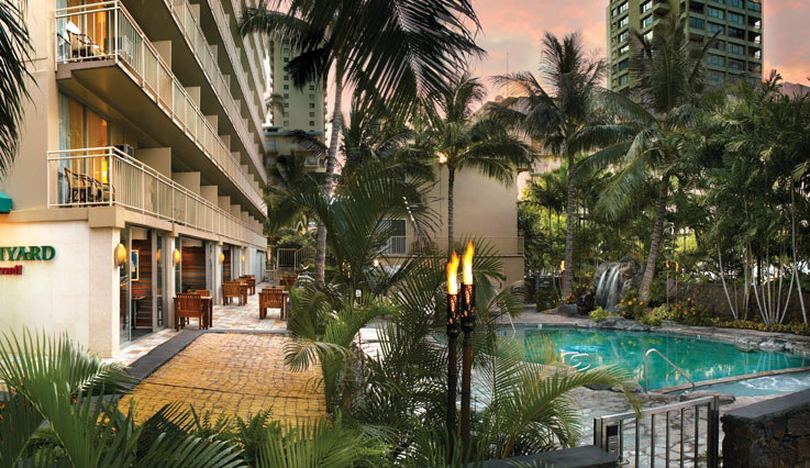 Showing Courtyard by Marriott Waikiki Beach feature image