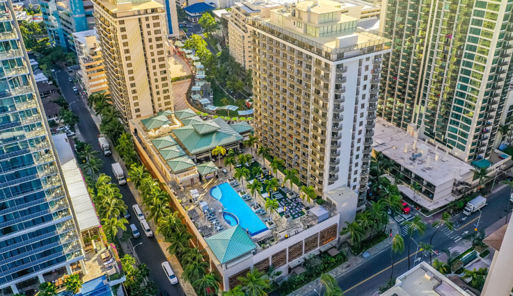 Showing Embassy Suites Waikiki Beach Walk feature image