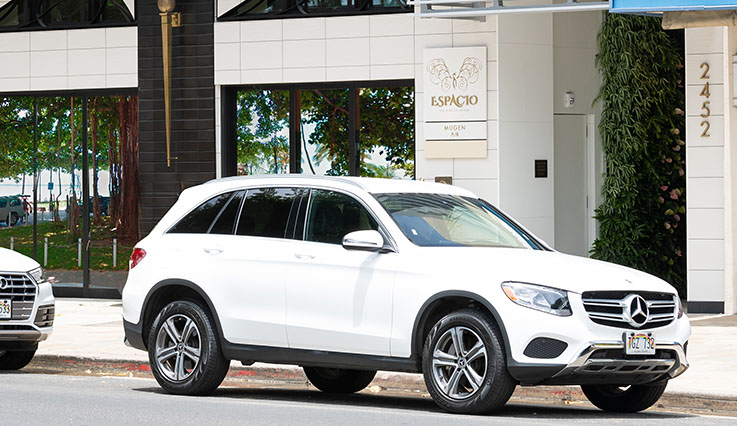 Complimentary Audi Q5 SUV rental