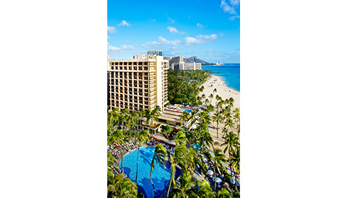 Showing slide 6 of 14 in image gallery for Hilton Hawaiian Village Waikiki Beach Resort