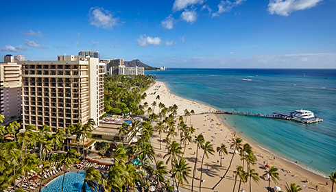 Showing slide 12 of 14 in image gallery for Hilton Hawaiian Village Waikiki Beach Resort
