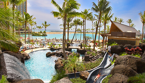 Showing slide 3 of 14 in image gallery for Hilton Hawaiian Village Waikiki Beach Resort