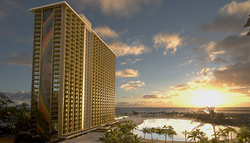 Showing slide 9 of 14 in image gallery for Hilton Hawaiian Village Waikiki Beach Resort