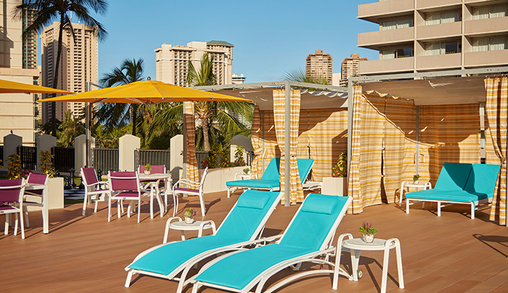 Showing slide 2 of 10 in image gallery for Holiday Inn Express Waikiki