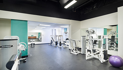 Showing slide 2 of 8 in image gallery, Fitness Room