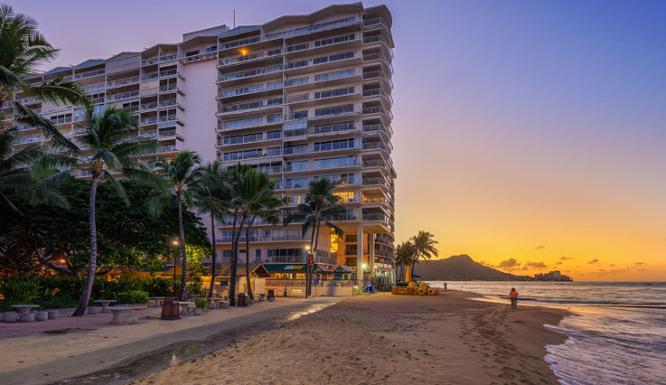 Showing Castle Waikiki Shore Beachfront Condominiums feature image