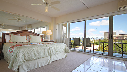 Image showcasing 1 Bedroom Park View Suite