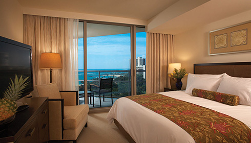 Image showcasing Deluxe Room Partial Ocean View