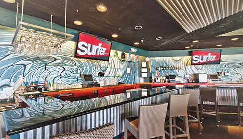 Surfer, The Bar