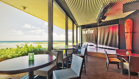 Surfer, The Bar - patio
