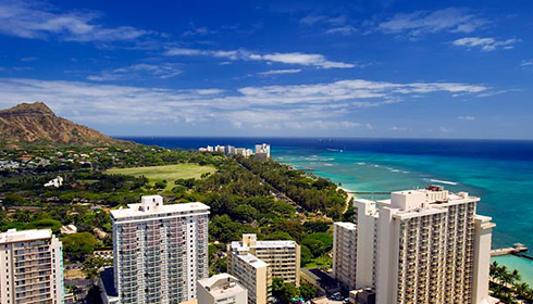 Showing slide 9 of 12 in image gallery for Waikiki Beach Marriott Resort and Spa