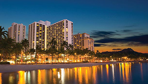 Showing slide 12 of 12 in image gallery for Waikiki Beach Marriott Resort and Spa