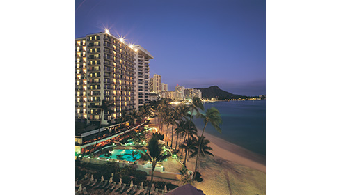Showing slide 5 of 10 in image gallery for Outrigger Waikiki Beach Resort
