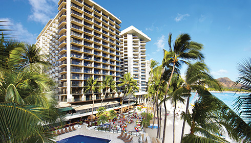 Showing slide 3 of 10 in image gallery for Outrigger Waikiki Beach Resort