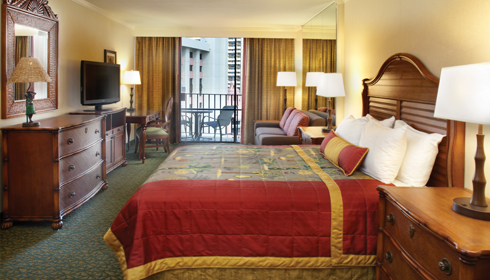 Image showcasing City View Room