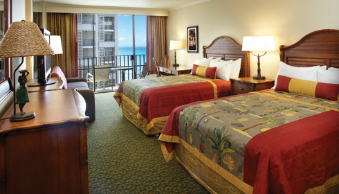 Image showcasing Partial Ocean View Room