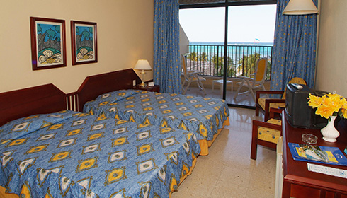 Standard Sea View Room 2 double beds