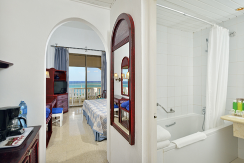 Showing slide 2 of 2 in image gallery, Standard Ocean View Room - Bathroom