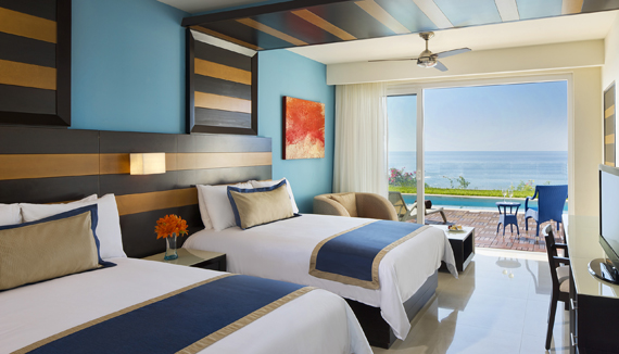 Showing slide 2 of 3 in image gallery showcasing Preferred Junior Suite Swim Out