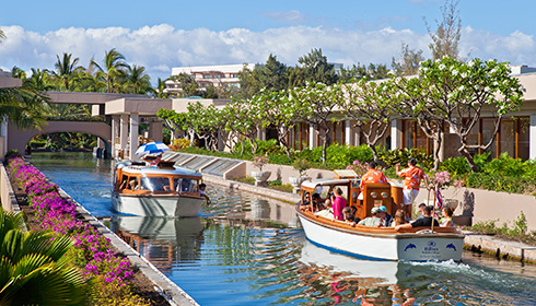 Showing slide 1 of 18 in image gallery for Hilton Waikoloa Village