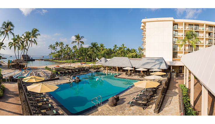 Showing Courtyard King Kamehameha's Kona Beach Hotel feature image