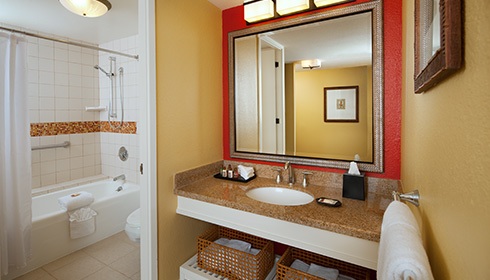 Showing slide 2 of 2 in image gallery, Oceanfront Bathroom