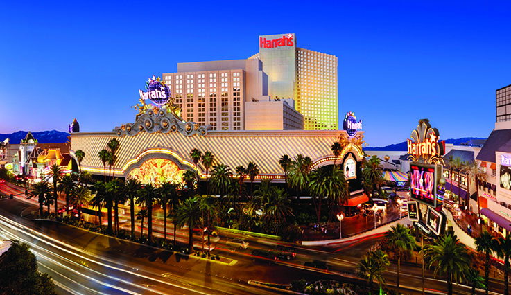 Showing Harrah's Las Vegas feature image