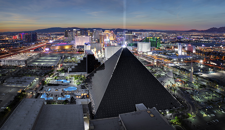 Las Vegas - Luxor Hotel and Casino