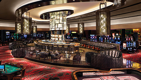 Image 13 de 30, de la gallerie de photos : Bar-salon Social dans le casino